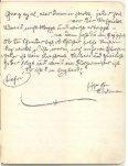 Original handgeschriebenes Liederheft Ostermanns von 1906 - Seite 5