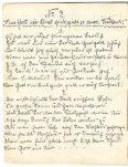 Original handgeschriebenes Liederheft Ostermanns von 1906 - Seite 6