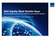 Private Real Estate - Wie Immobilieninvestoren ... - Real Estate Days