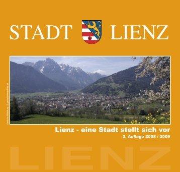 Broschüre Stadt Lienz 2. #E471B