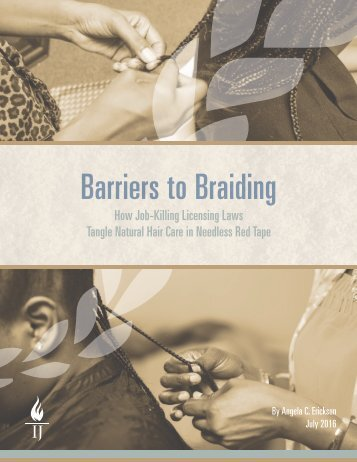 Barriers to Braiding