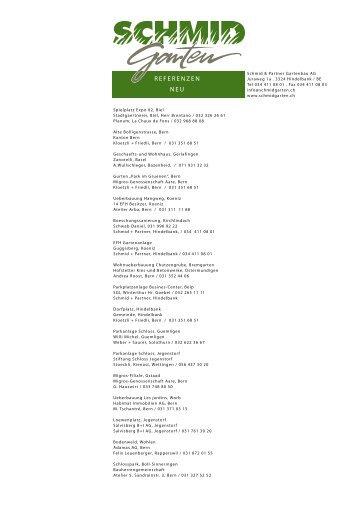 Pdf-Datei - Schmid & Partner Gartenbau AG