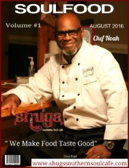 Shugs August Magazine
