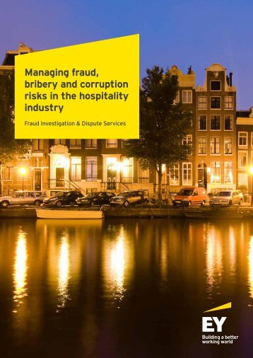 Managing fraud bribery and corruption risks in the hospitality industry