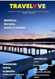 TRAVELOVE, Revista de viajes núm. 1, Agosto 2016