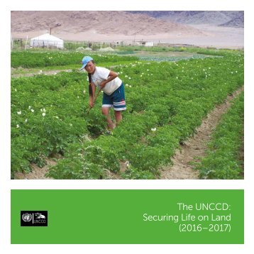 The UNCCD Securing Life on Land (2016–2017)