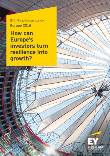 How can Europe's investors turn resilience into growth?