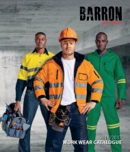 Barron's Workwear Catalogue