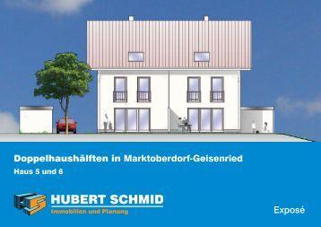 Marktoberdorf, Geisenried - Hubert Schmid Bauunternehmen GmbH