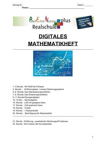 Matheheft