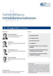 Immobilientransaktionen - Verlag Dr. Otto Schmidt