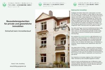 Bausubstanzgutachten für private und gewerbliche Immobilien