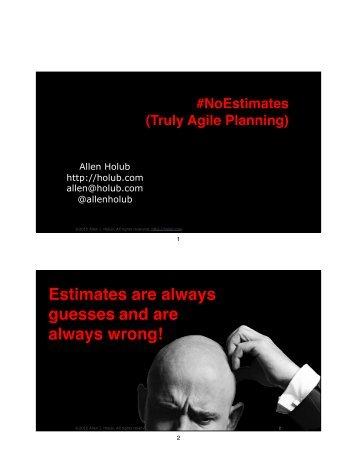 always wrong!