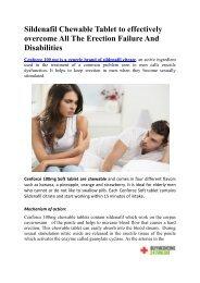 BuyMedicine247online-Buy Cenforce 100mg  Sildenafil Chewable Tablet Online