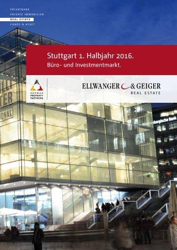 Büro- und Investmentmarkt Stuttgart, 1. Halbjahr 2016