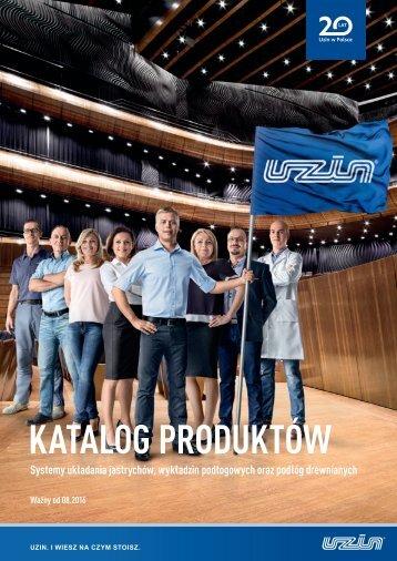 Katalog produktów UZIN - 20 lat Uzin w Polsce!