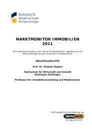 Studie Marktmonitor Immobilien 2011