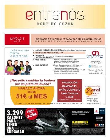 EntreNós nº 17, mayo de 2016