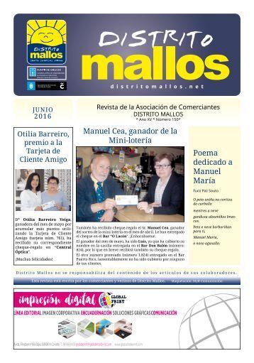 Distrito Mallos nº 150, junio de 2016