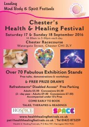Chester's Health & Healing Festival