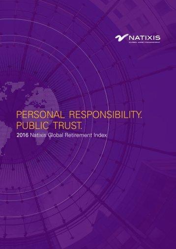 PERSONAL RESPONSIBILITY PUBLIC TRUST