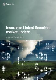 Insurance Linked Securities market update