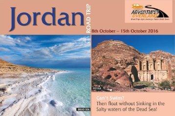 Jordan Road Trip - Adevtures Overland