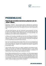 Pressemeldung_16082011 - Immobilien Zentrum