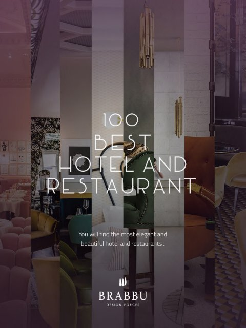 Best Hotel and Restaurant