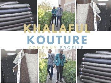 Khalaful Kouture Company Profile