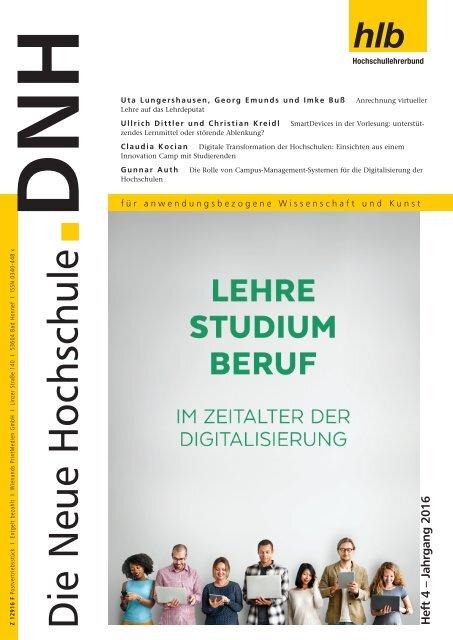 Die Neue Hochschule Heft 4-2016