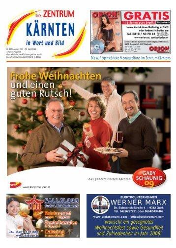 Ausgabe 11.2007 (PDF-Format, ca. 2,0 MB - Zentrum Kärnten in ...