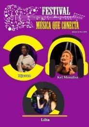 Música que Conecta - Diagramação Revista  Jornalismo e E-news-