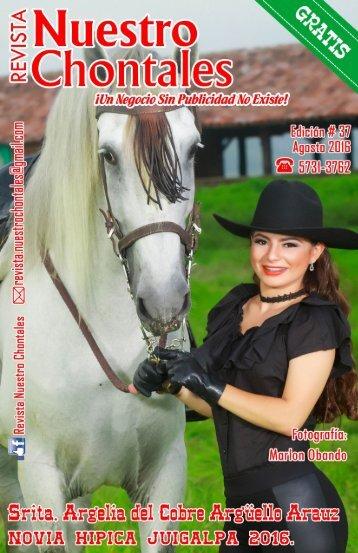 Revista Nuestro Chontales - Agosto 2016