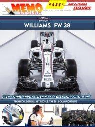 MEMO SPECIAL EDITION  - Williams FW38