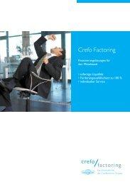 Finanzierungslösungen für den Mittelstand: Crefo Factoring BRD (PDF