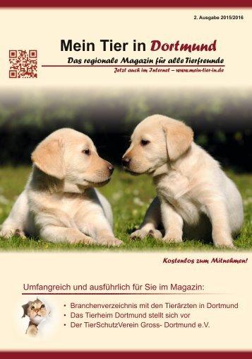 Mein Tier in Dortmund 2. Auflage
