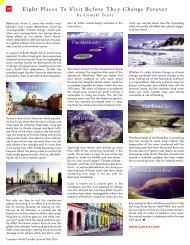 Contiki - Canadian World Traveller magazine - Spring Summer 2016 Issue (2)