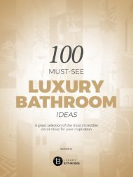 Luxury Bathrooms Ideas