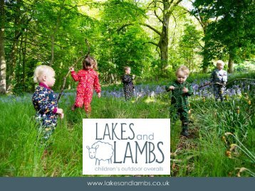 Lakes and Lambs Stockist Brochure