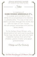Rabbi Ronnie Greenwald Memorial Journal - Page 5