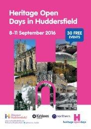 Heritage Open Days in Huddersfield