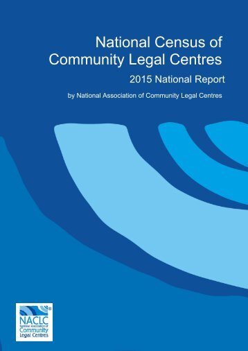 National Census of Community Legal Centres