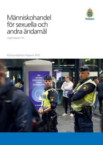 Människohandel för sexuella och andra ändamål