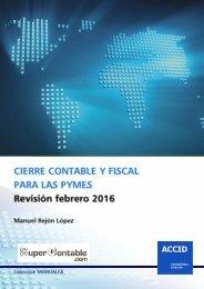 Cierre contable y fiscal para las PYMES