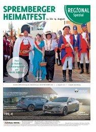 Regional Spezial   Spremberger Heimatfest vom 12. bis 14. August