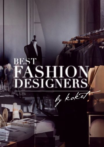 Best Fashion Designers by Koket