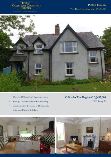 Picton House Offers In The Region Of £495,000