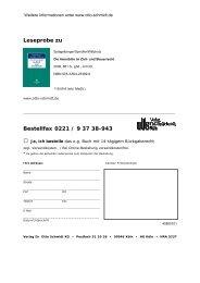 Leseprobe zu - Verlag Dr. Otto Schmidt