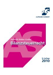 bilanzsteuerrecht 2010 - Alpmann Schmidt
